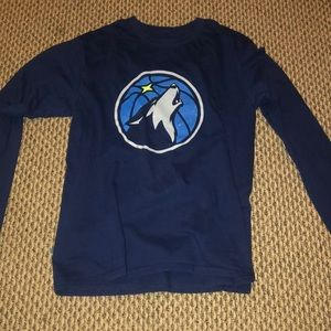 Timberwolves long sleeve